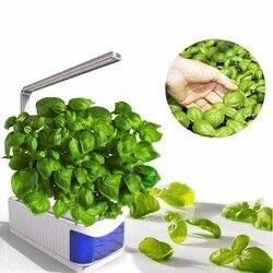 Smart Coperta Herb Garden Planter Kit LED Coltiva La Luce Idroponica In Crescita Multifunzione Lampada Da Tavolo Fiore Pianta Coltiva La Lampada AC100-240V