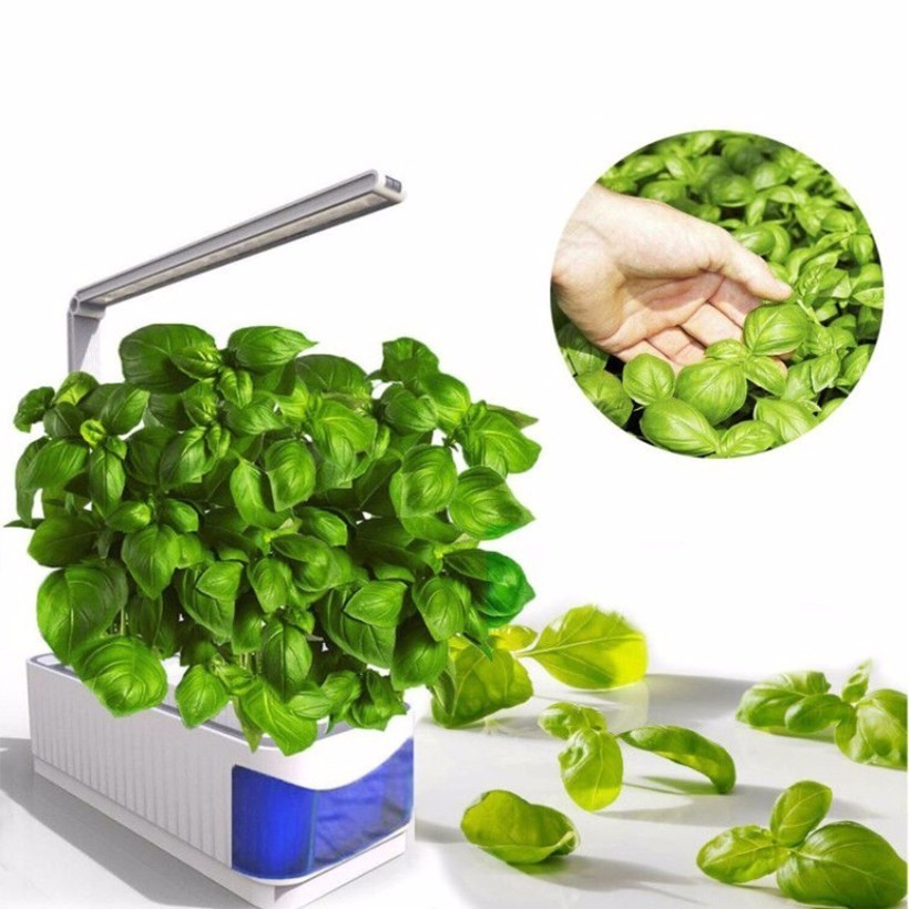 Smart Indoor Herb Garden Planter Kit Led Grow Light Tanam Hidroponik Multifungsi Lampu Meja Tanaman Bunga Tumbuh Lampu Ac100 240v Bunga Pot Planters Aliexpress