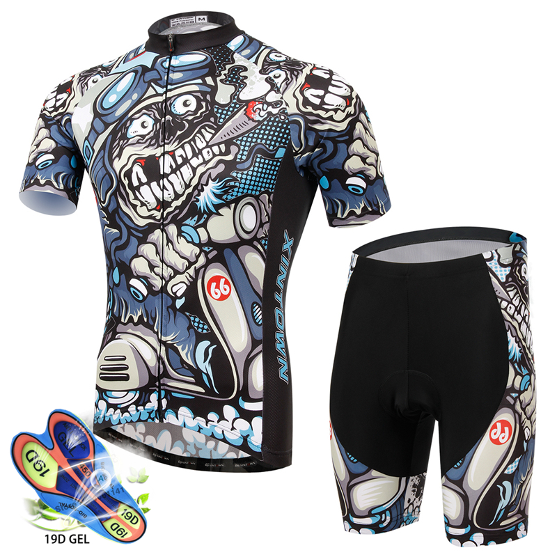 Short-sleeved Bicycle Clothing Cycling Jersey Mountain Bike Riding Shirt Breathable Cycling Clothing Kit Maillot Ciclismo Hombre