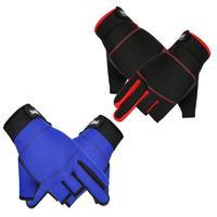 Нескользящие перчатки для рыбалки с тремя пальцами для спорта на открытом воздухе походные горные шоссейные велосипедные дышащие перчатки
