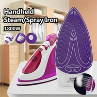 220V 1800W 280ml Portable Handheld Iron Steam Clothes Garment Steamer Household Appliances Laundry Clothing Steaming