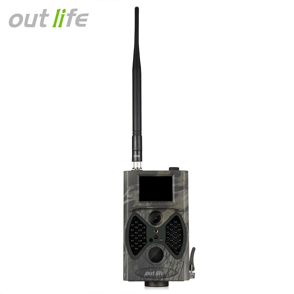 Outlife Trail-Camera Infra Digital Hc-300m Night-Vision 12-Mp 940nm 1080P 40pcs Leds