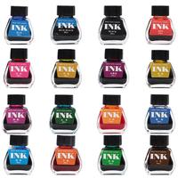 35ml 16 Colors Writing Painting Fountain Pen Ink Student School Office Supplies ink refill ink carbon pimio water Office & School Supplies