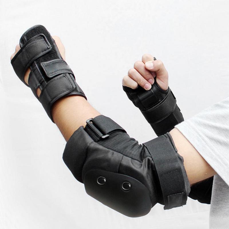 6pcs Unisex Protective Gear Breathable Elbow Knee Pads Wristguard Skiing Cycling Skateboard Skating Anti-slip Protector