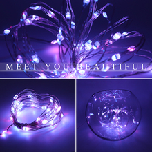 1M-10M USB RGB LED String Lights Outdoor Fairy Waterproof Leds Garland Wire Decoration Christmas Party