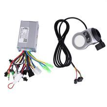 250 Вт/350 Вт бесщеточный контроллер для электрического велосипеда ЖК-дисплей Панель переключения скоростей для электрического велосипеда скутер аксессуары для электровелосипеда