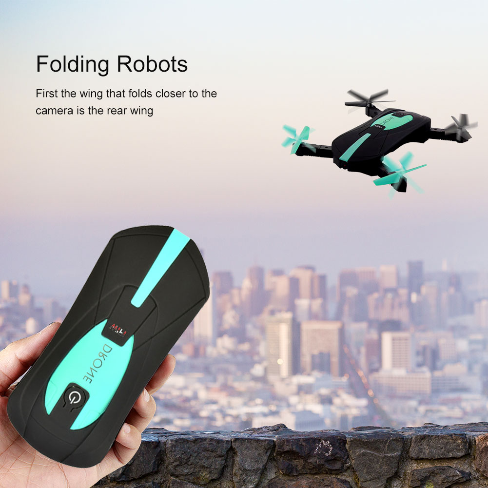 WIFI Portable Quadcopter Drone with FPV HD Camera Foldable Drone 2.4 GHz 3D Flip Quadcopter Headless Mini Pocket Helicopter