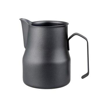 450ml Coffee Pitcher Milk Frothing Jug Stainless Steel Espresso Cup Milk Mugs Garland Latte Jug Coffee Tool фото