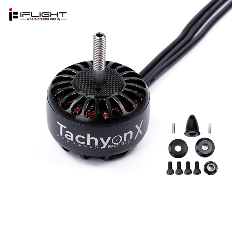 iFlight Tachyon T4214 X-Class 3-6S 400KV 660KV Brushless Motor for RC Drone FPV Racing Models Multirotors Part DIY AccessoriesiFlight Tachyon T4214 X-Class 3-6S 400KV 660KV Brushless Motor for RC Drone FPV Racing Models Multirotors Part DIY Accessories