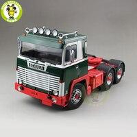 141 Scania Lbt 1/18 тягач Asg 3 Assi 1976 ROAD KINGS RK180011 Diecast автомобиль грузовик модель игрушки для детей подарок зеленый и красный