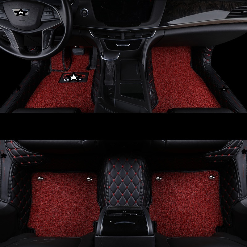 Floor Mats Automobiles & Motorcycles Upgraded Protector Decoration Car Carpet Floor Mats Mouldings Parts Styling Automobiles Automovil Foot Pad For Hyundai Mistra