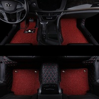 Decorative Interior Mouldings Car Floor Mats protector Modified Decoration Upgraded Automobiles Foot Pad FOR Cadillac CT6
