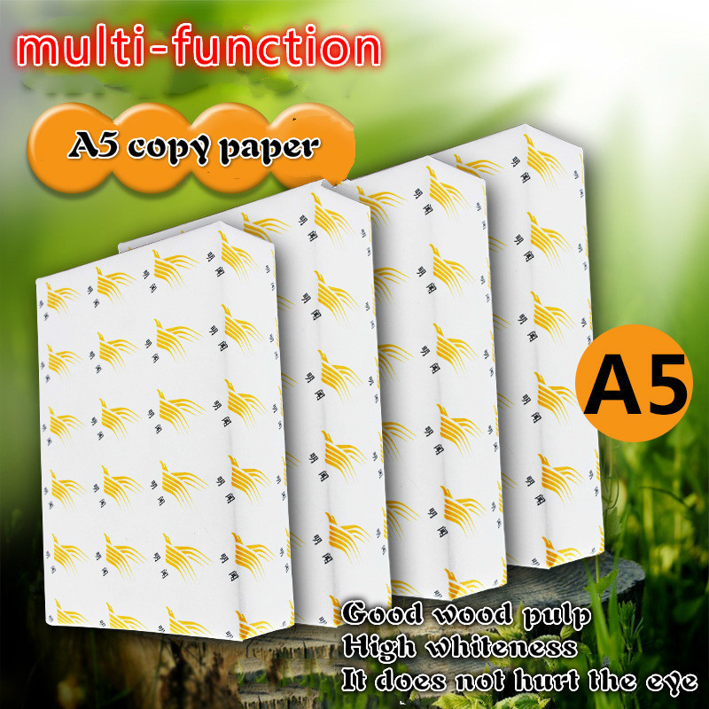 A5 Printing Paper A5 To Copy Paper 500 Nervous 70g A5 Paper Print White Paper