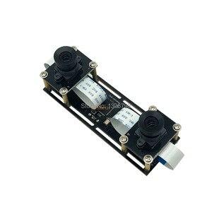 Image 2 - 1080P bez zniekształceń elastyczna synchronizacja Stereo kamera internetowa podwójny obiektyw 30FPS moduł kamery USB do 3D wideo VR wirtualna rzeczywistość