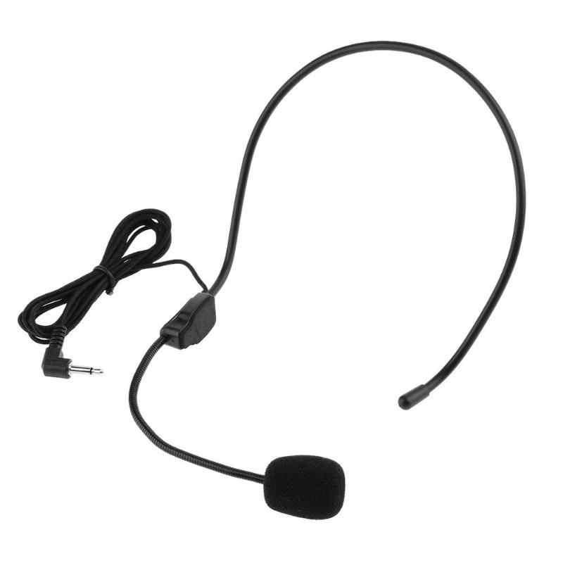 Mikrofon lekki przewodowy klasy prezentacji wzmacniacz głośnik zestaw słuchawkowy z mikrofonem na wykład nauczanie przewodnik konferencyjny Studio