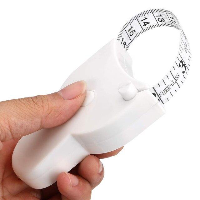 150 سنتيمتر/60 بوصة اللياقة البدنية دقيقة اللياقة البدنية الفرجار الجسم الخصر الصدر الأسلحة الساقين أشرطة القياس قابل للسحب حاكم قياس