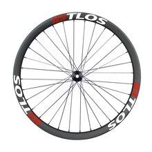 Symmetric 29er 34mm internal width MTB downhill carbon wheelset - WM-i34-9-N