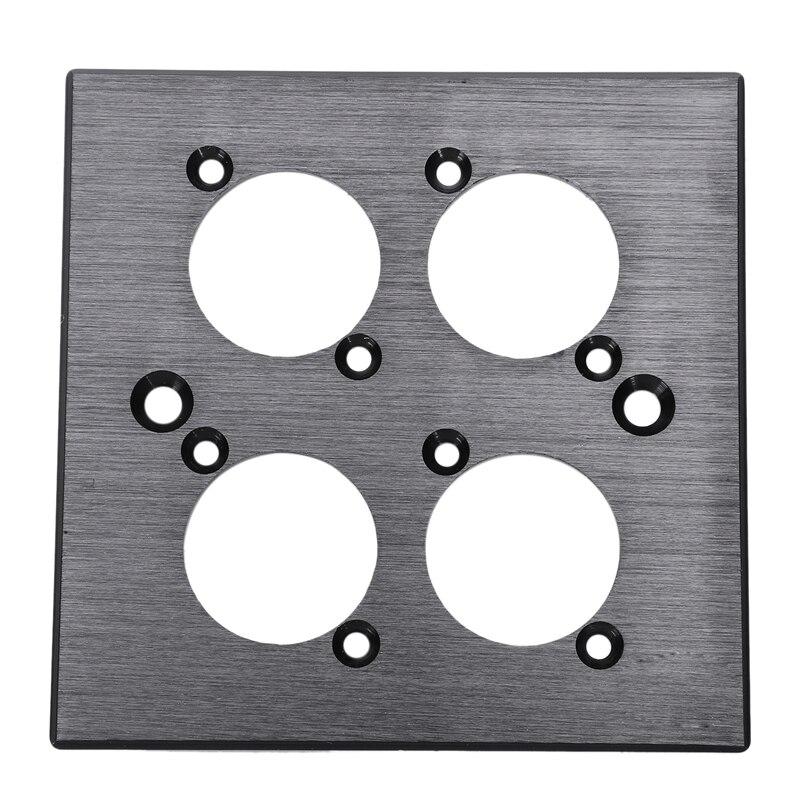 86 Type Socket Panel Smart Socket Single Four Hole Panel