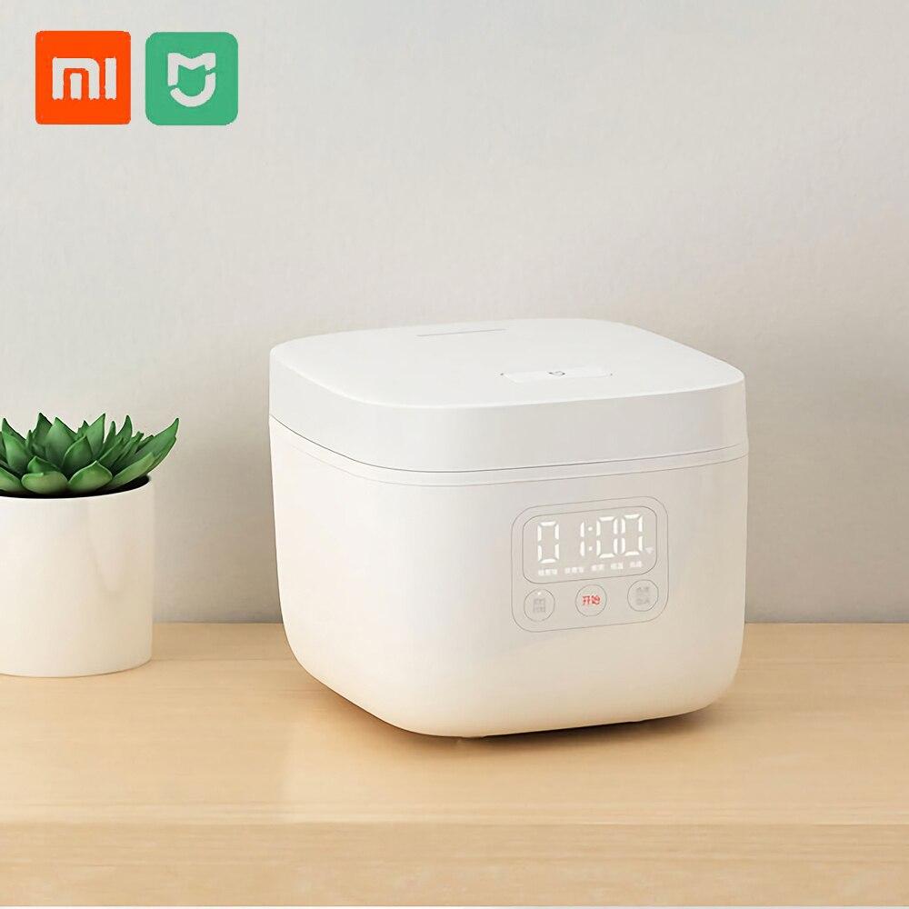 Hot Verkoop Xiaomi Mijia 1.6l Elektrische Rijstkoker Keuken Mini Rijstkoker Kleine Kok Machine Intelligente Afspraak Led Display-in Rijstkoker van Huishoudelijk Apparatuur op  Groep 1