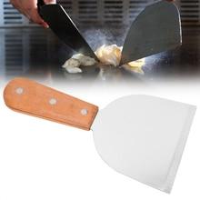 Нержавеющая сталь барбекю скребок для решетки для гриля кухня приготовления стейка жареная Лопата блинов Флиппер