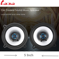 LABO Paired LB PS1502T 5 Inch Car Coaxial Music Speaker Power Sensitivity Stereo Auto Sound Music Speakers for Car Vehicle