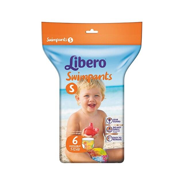 Трусики для плавания Libero Swimpants Small (7-12 кг), 6 шт
