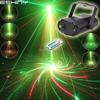 Mini r & g laser grande 8 padrões projetor dança discoteca bar festa de família luzes palco dj ambiente iluminação mostrar luz t20n7|light show|light dj|stage light -