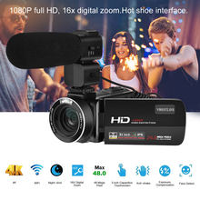 HDV-Z20 3.0 in IPS Screen WIFI 16x Digital Zoom 1080P full HD DV Digital Camera support Anti-shake Face detection(China)