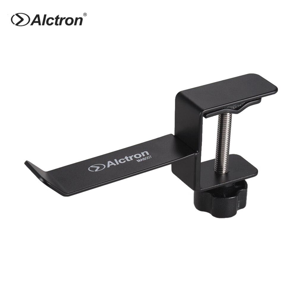 Alctron MAS007 Universal Metal Headset Headphone Holder Hook Hanger Desk Mount Stand Earphones Stand Gaming Studio