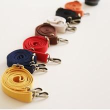130cm Canvas Bag Strap Adjustable Shoulder Fashion Replacement Candy Color Handbag Crossbody Belts Nylon Brand