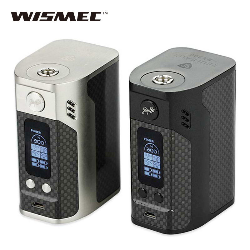 Originalus 300W WISMEC Reuleaux RX300 TC dėžė Mod RX-300 VW / TC Vape MOD RDA RTA RDTA DIY Vape e-cigaretė prieš Rx2 / 3