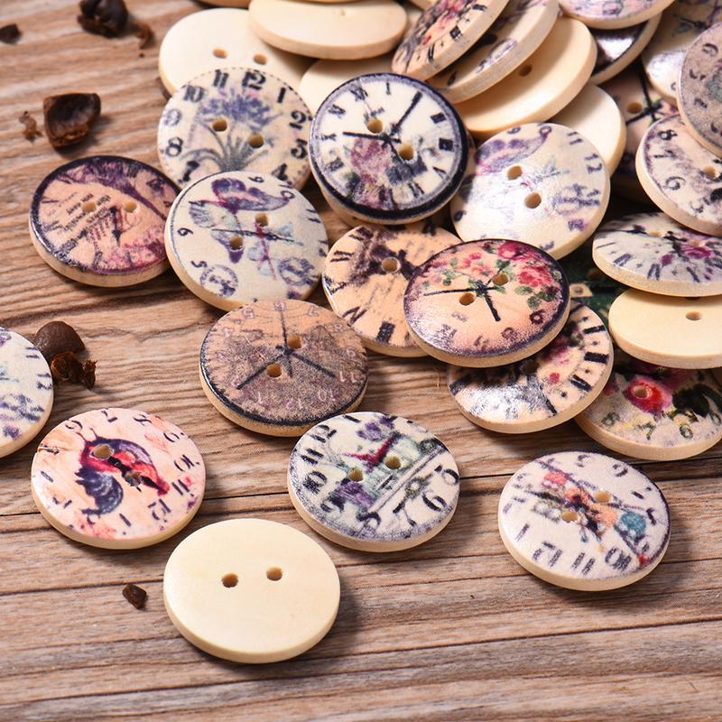 Vintage Buttons 1930/'s 24 Yellow Matt Finish 2-hole Pin Wheel Casein Buttons
