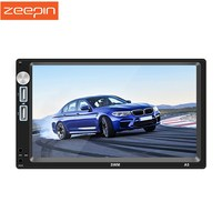 Zeepin A5 7 Inch Radio Car Android 8.1 GPS FM Bluetooth MP5 Player Support Wifi Rear View For Passat B6 Universal Cars