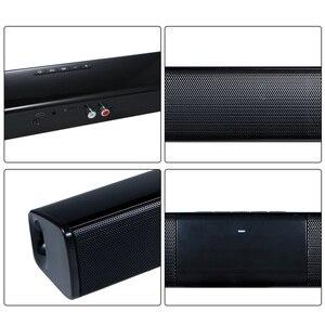 Image 4 - יוקרה אלחוטי Bluetooth 4.0 Soundbar רמקול טלוויזיה קולנוע ביתי 3D Soundbars בס טלוויזיה סאב w/ RCA קו שלט רחוק