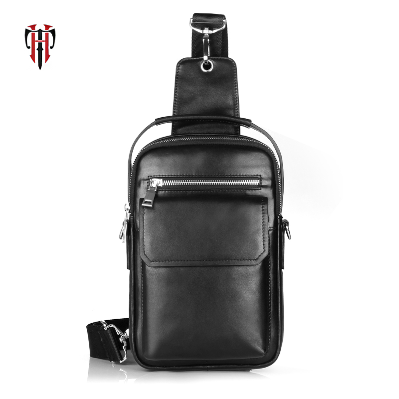 TIANHOO mini chest bags men leather genuine leather bag crossbody men package fashion shoulder bagTIANHOO mini chest bags men leather genuine leather bag crossbody men package fashion shoulder bag