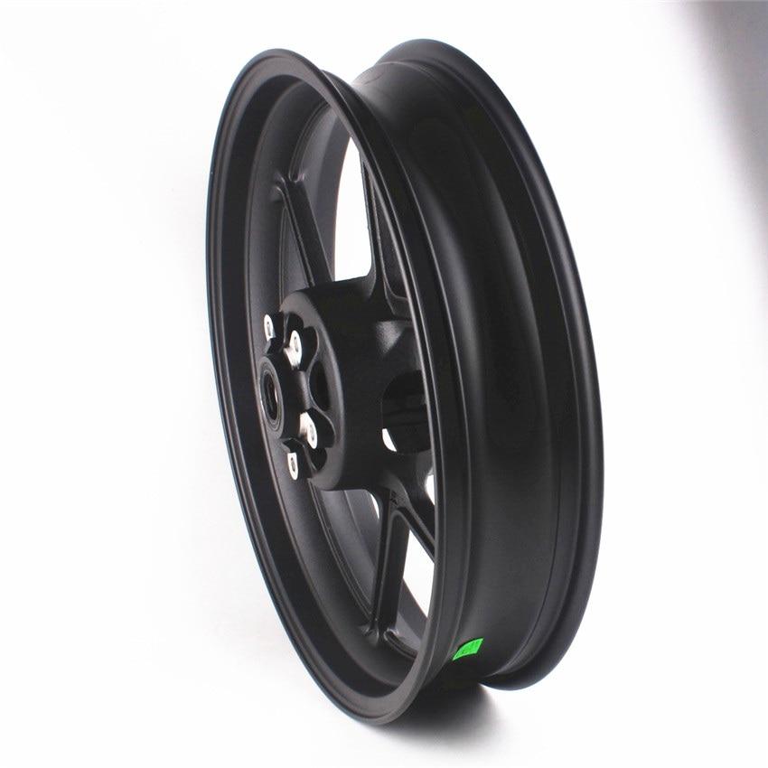Motorcycle Front Wheel Rim For Kawasaki Ninja ZX6R 2005 2017 ZX10R 2006 2010 VERSYS 1000 2012 2018 Black