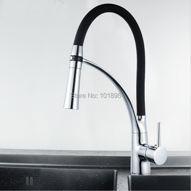 Brass Material Chrome Plated of Cold & Hot Water Kitchen TapBrass Material Chrome Plated of Cold & Hot Water Kitchen Tap