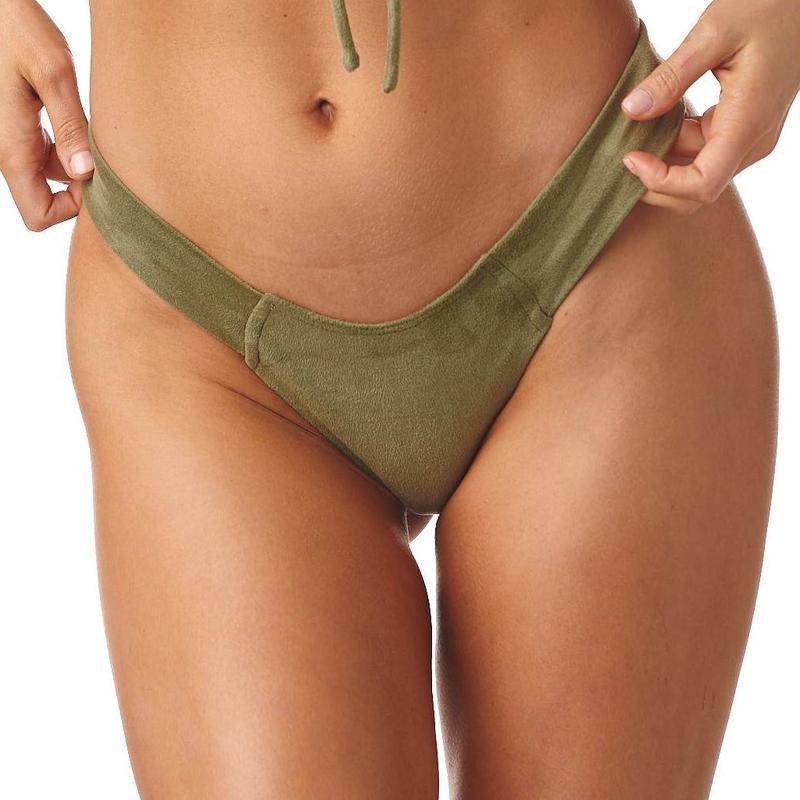 2020 Summer Thong Sexy Bikinis Mujer Biquini Front Tie Sheer Swimsuit Push Up Swimwear Women Beach Wear Female Bathing Suit 5