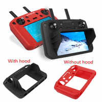 Silicone Case Protective Cover With Sunhood Durable Shockproof Skin Protective Case for DJI Mavic 2 Smart Remote Controller