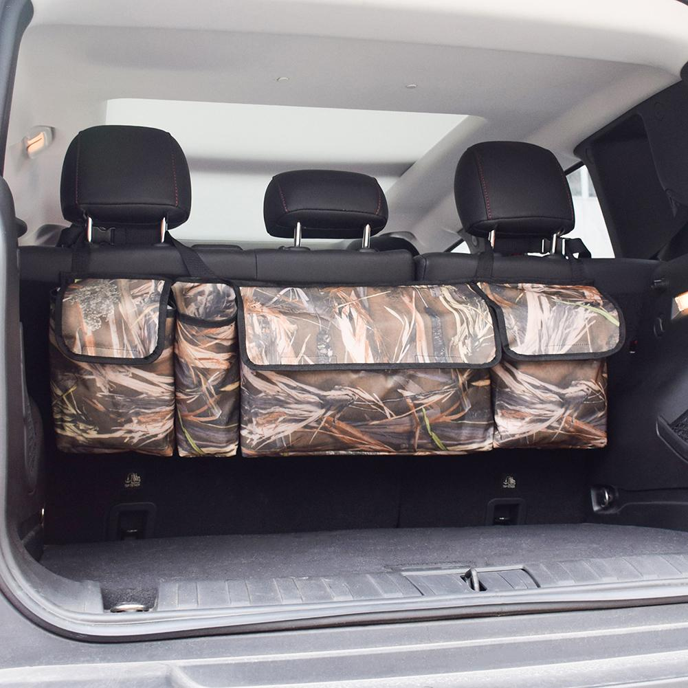 Image 5 - Trunk Backseat Car Organizer Camouflage Large Capacity 600D Oxford Cloth Traveling Car Trunk Storage Bag Auto Accessories-in Stowing Tidying from Automobiles & Motorcycles