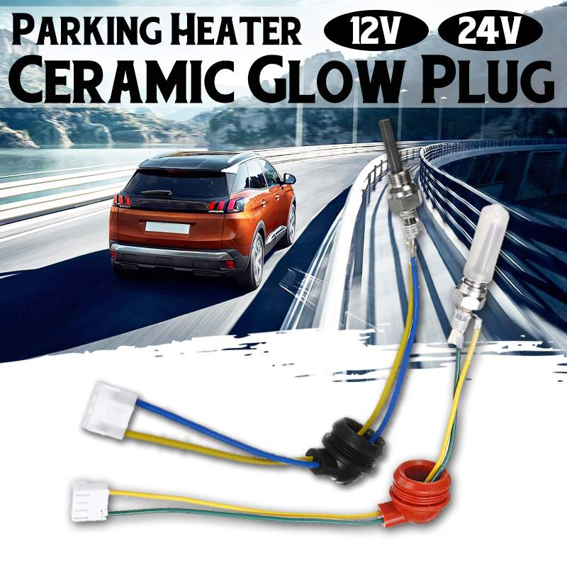 Universal 12/24 V Auto Parkplatz Heizung Keramik Glow Stecker Auto Funken Zündung Compact Air Park Heizung Tank