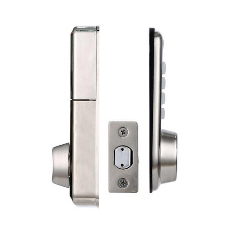 Cheap Smart Home Digital Door Lock, Waterproof Intelligent Keyless Password Pin Code Door Lock Electronic Deadbolt Lock