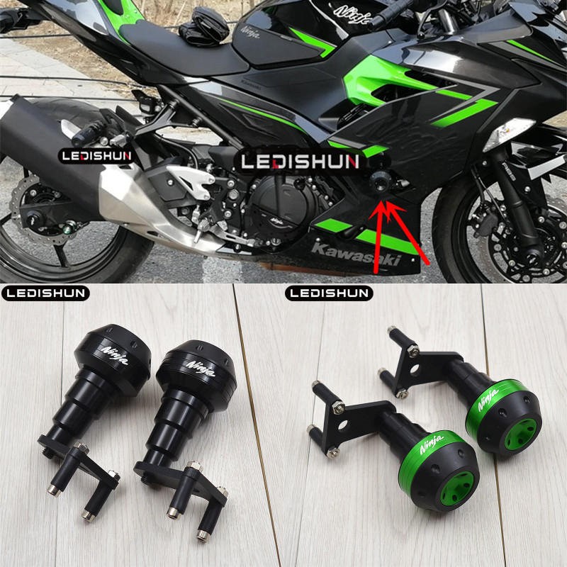 For KAWASAKI NINJA400 NINJA 400 Z400 Z 400 2018 2019 slider frame sliders Engine Protective Guard