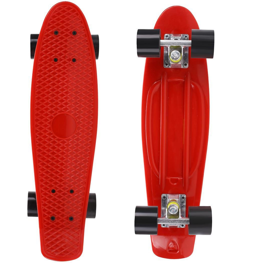 Image 3 - 22inches  Skateboard Four wheel  Skateboard Street Outdoor Sports For Adult or Children Longboard Skate Board  for Girl Boy-in Skate Board from Sports & Entertainment