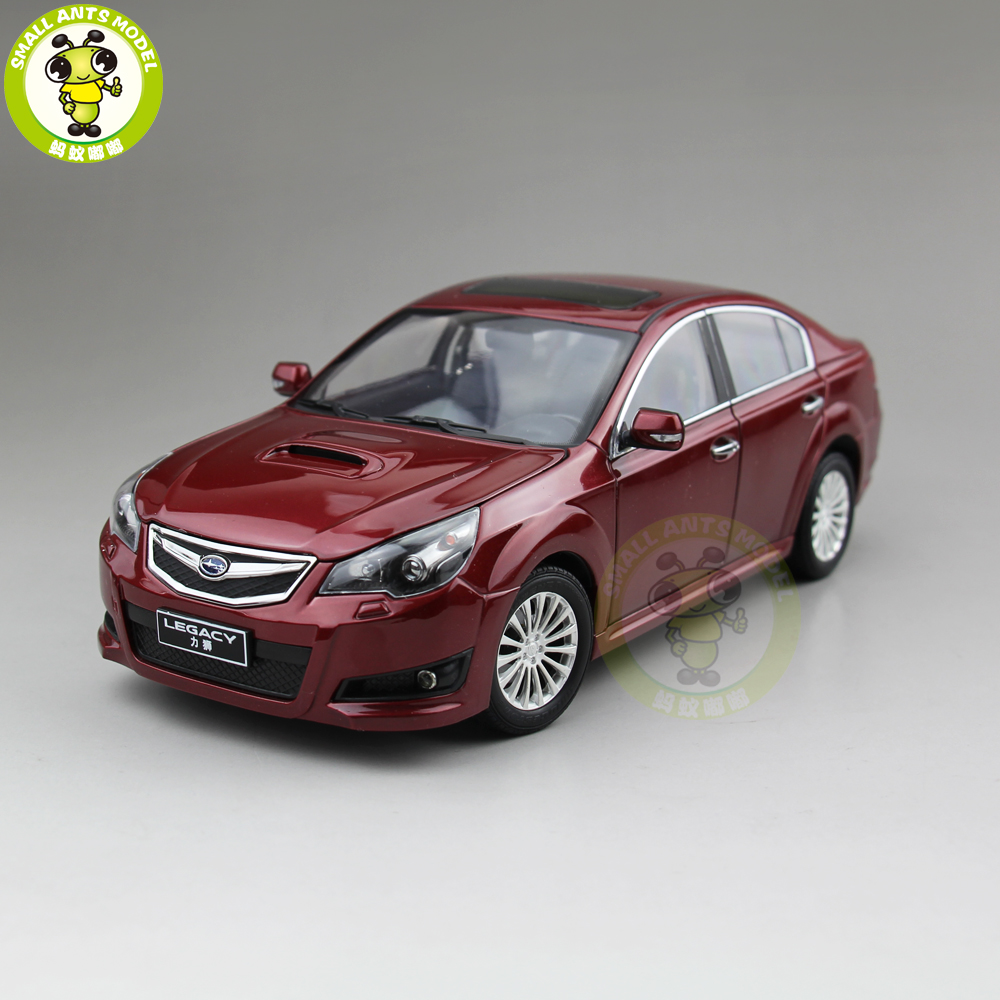 1 18 Subaru LEGACY Diecast Car Model Toys Kids Boy MEN Girl Gift Collection Hobby Red