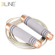 Jump Rope Ultra-speed Ball Bearing Skipping Rope Steel Wire jumping ropes for Boxing MMA Gym Fitness Training(China)