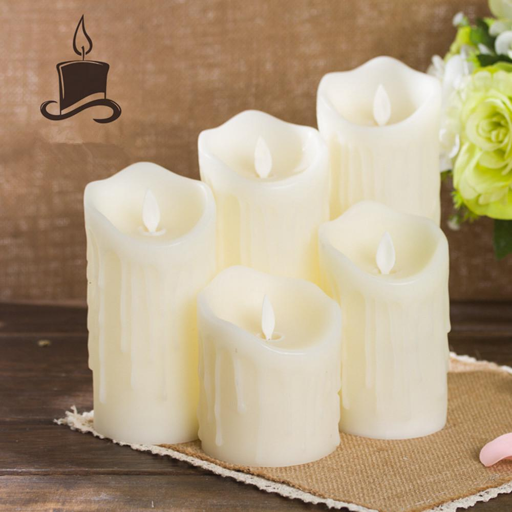 Adeeing Simulate Flameless Electric Candle,Adeeing Tealight for Home Wedding Decor Warm Yellow Light