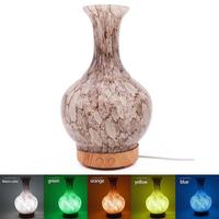 Glass Vase Night Lights Aromatherapy Diffusers Electric Incense Burner Aroma Diffuser Backflow Incense Burner Accessories