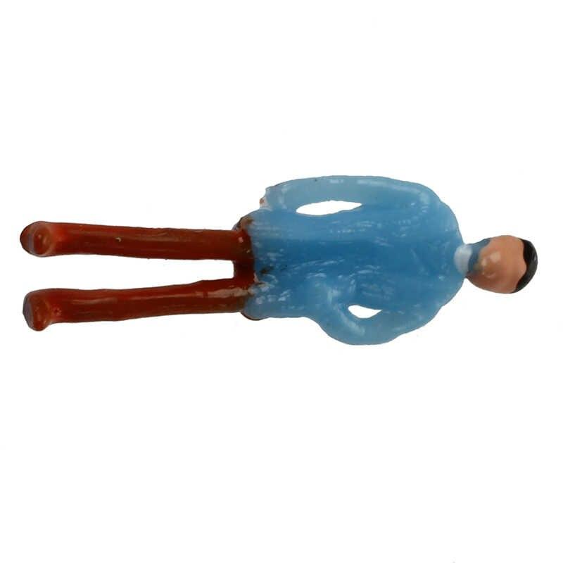 100 Pcs Melukis Model Kereta Penumpang Orang Figure Skala 1:150