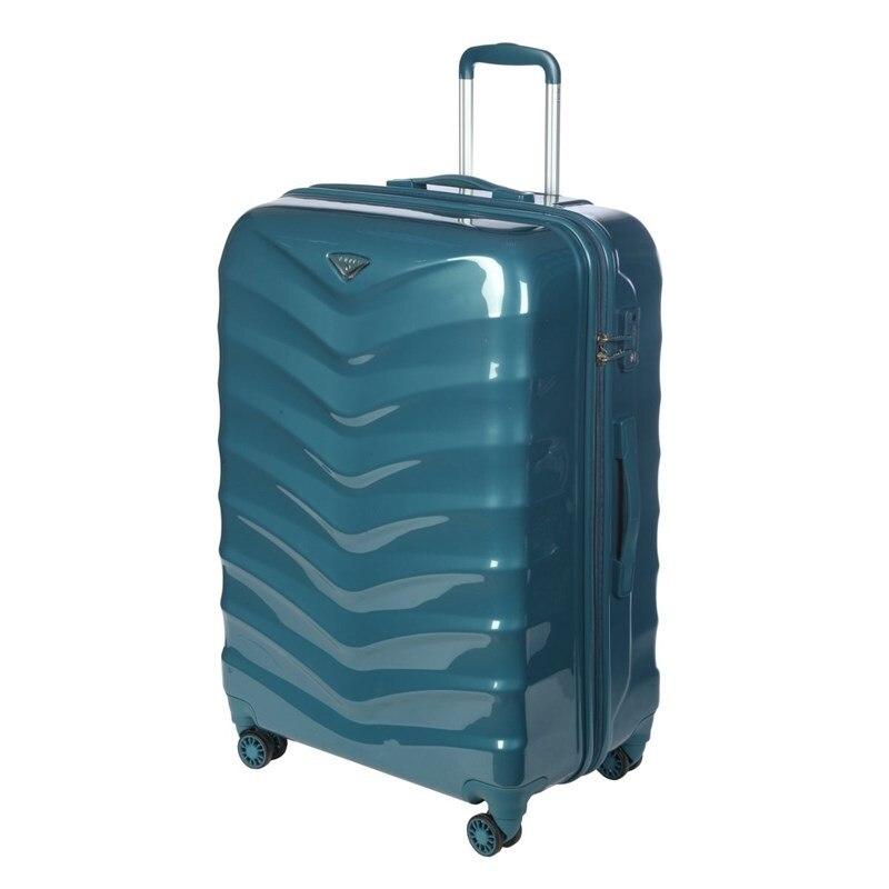 Suitcase-trolley Verage GM15059W28 smoke blue